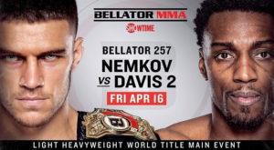 Bellator 257: Вадим Немков - Фил Дэвис 2