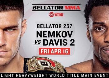 Bellator 257: Немков vs Дэвис 2 / Прямая трансляция