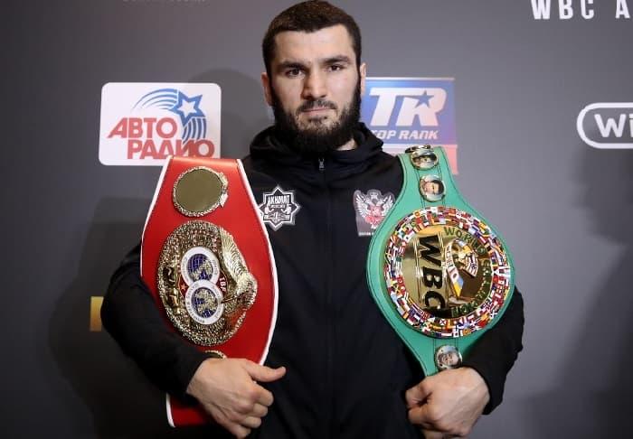 Артур Бетербиев одержал победу над Адамом Дайнесом