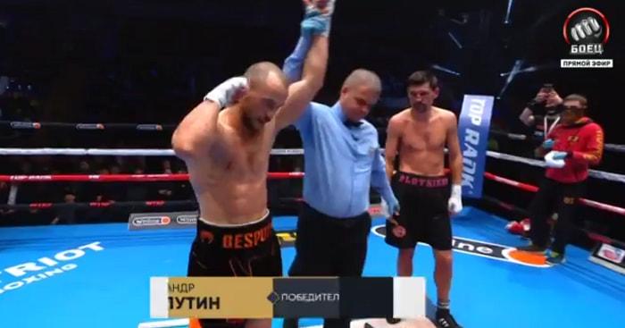 Александр Беспутен одержал победу над Виктором Плотниковым