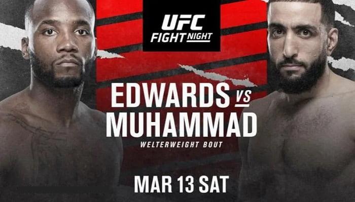 UFC Fight Night 187: Эдвардс - Мухаммад / Прямая трансляция