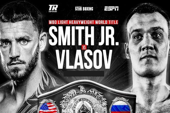 Бой Джо Смита против Максима Власова планируется на 10 апреля