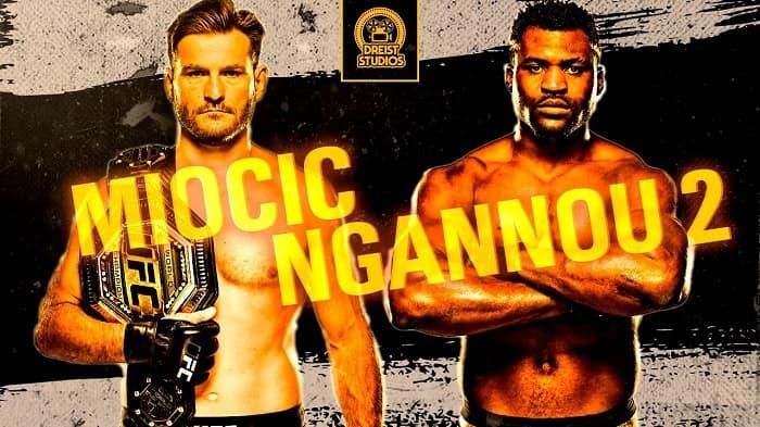 Стипе Миочич vs Фрэнсис Нганну 2   Разбор и Прогноз на бой