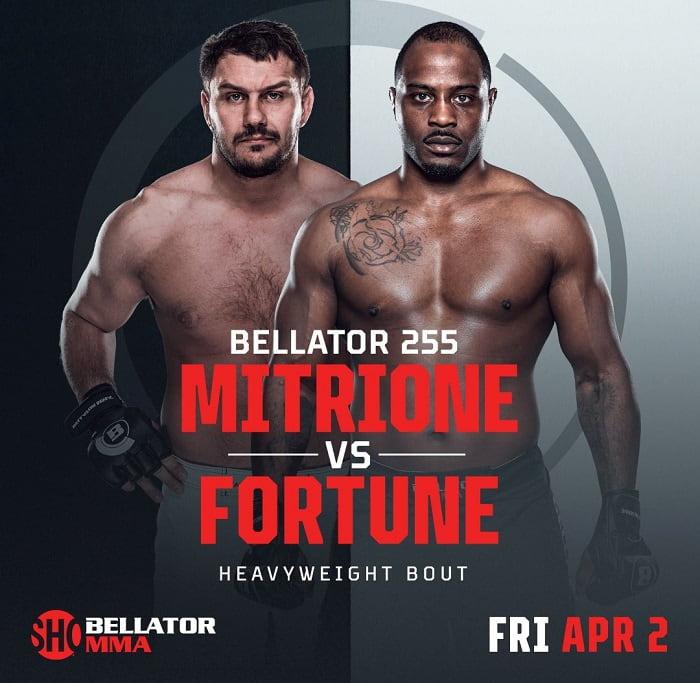 Мэтт Митрион и Тайрелл Фортун проведут бой на Bellator 255