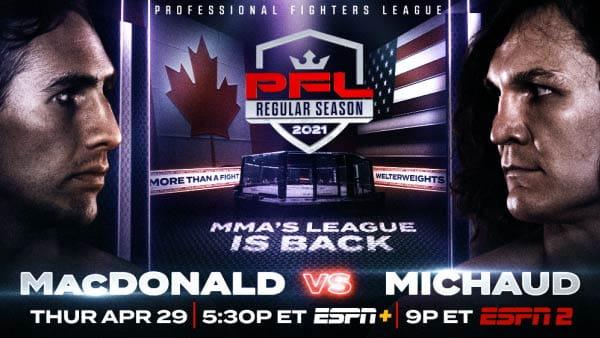 PFL 2 Макдональд vs Мишо / 2021