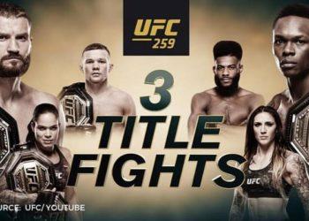 UFC 259: Адесанья — Блахович / Прямая трансляция