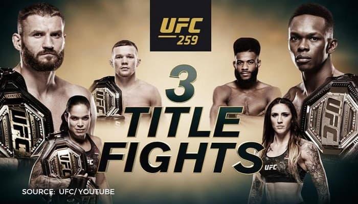 UFC 259: Адесанья - Блахович / Прямая трансляция