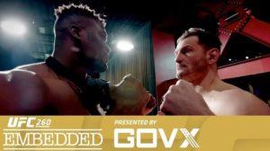 UFC 260: Embedded - Эпизод 6