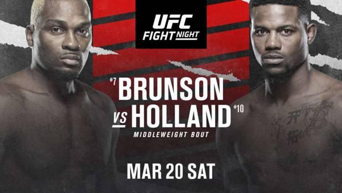 UFC Fight Night 188: Брансон - Холланд / Прямая трансляция