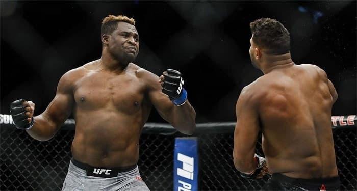 Все бонусы Фрэнсиса Нганну в UFC
