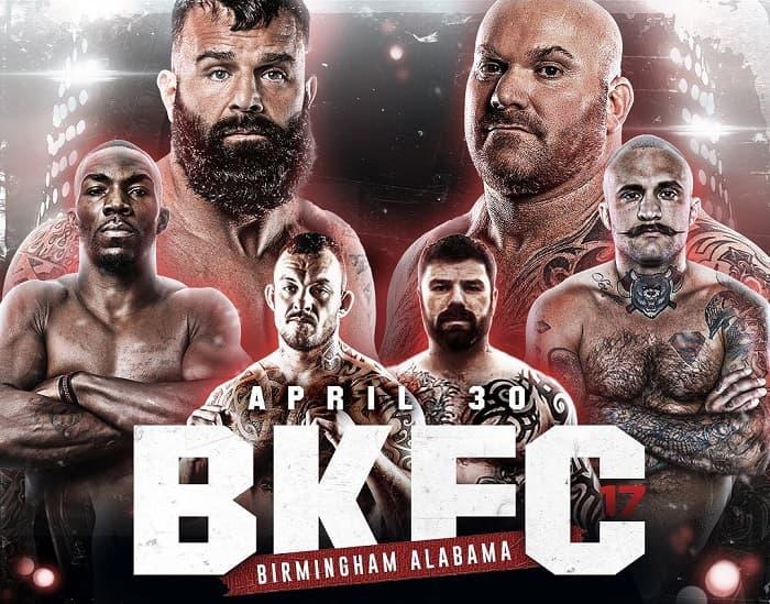 BKFC 17: Клеклер vs Бернс