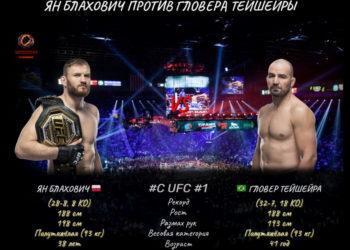 Ян Блахович подерется с Гловером Тейшейрой на UFC 266