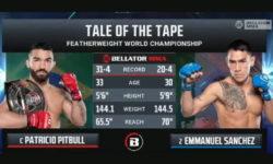 Видео боя Патрисио Фрейре — Эммануэль Санчес 2 / Bellator 255