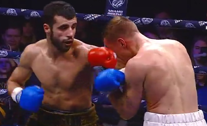 Валерий Оганисян одержал победу над Эдуардом Трояновским