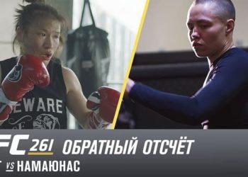UFC 261: Обратный отсчет — Жанг vs Намаюнас