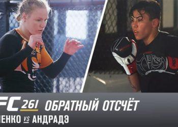 UFC 261: Обратный отсчет — Шевченко vs Андрадэ