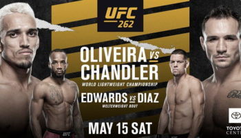 UFC 262: Чендлер — Оливейра / Прямая трансляция