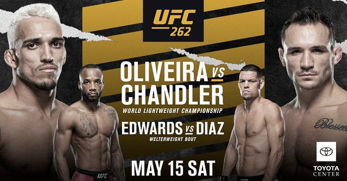 UFC 262: Чендлер vs Оливейра