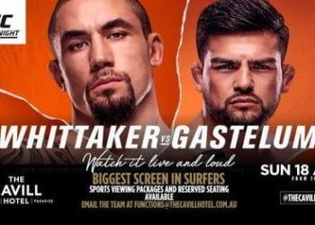 UFC Fight Night: Уиттакер — Гастелум / Прямая трансляция