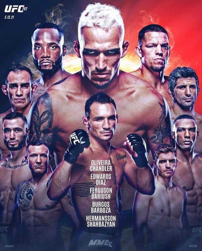 UFC 262 Чендлер - Оливейра