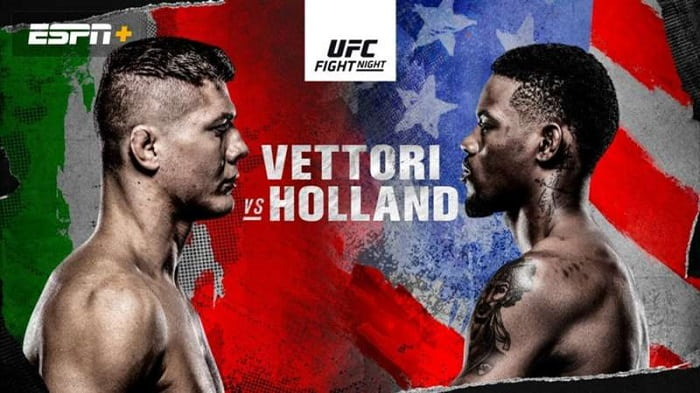 UFC Fight Night: Веттори - Холланд / Прямая трансляция