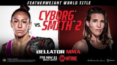 BELLATOR 259: Киборг vs Смит 2