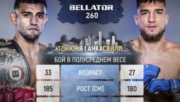 Bellator 260: Лима vs Амосов