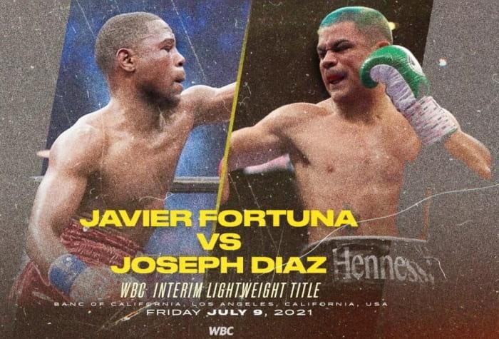 Хавьер Фортуна и Джозеф Диас оспорят титул WBC