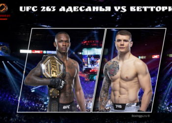 UFC 263 Адесанья vs Веттори 2