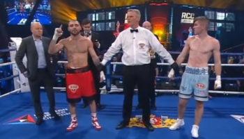 Магамед Курбанов одержал победу над Лиамом Смитом