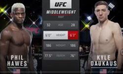 Видео боя Фил Хоус — Кайл Докос / UFC Vegas 26