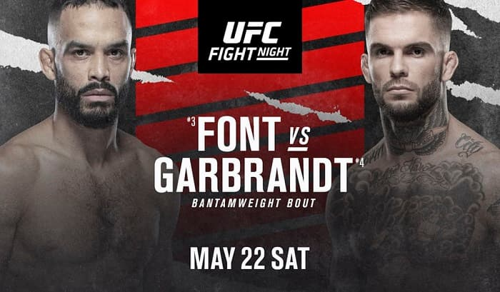 UFC Fight Night 188: Фонт - Гарбрандт / Прямая трансляция