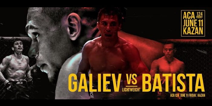 ACA 124: Венер Галиев vs Хердесон Батиста