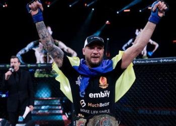 Ярослав Амосов победил Дугласа Лиму и стал чемпионом Bellator