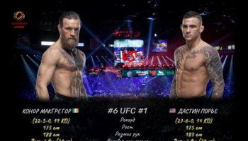 UFC 264: Макгрегор vs Порье 3 / Прямая трансляция