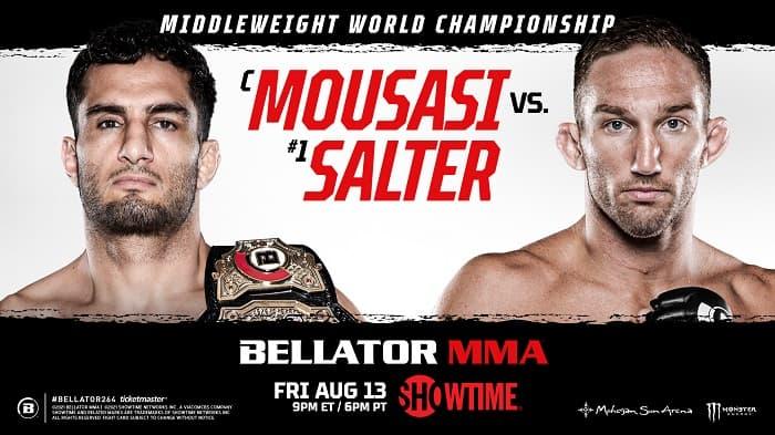 Bellator 264: Гегард Мусаси - Джон Солтер