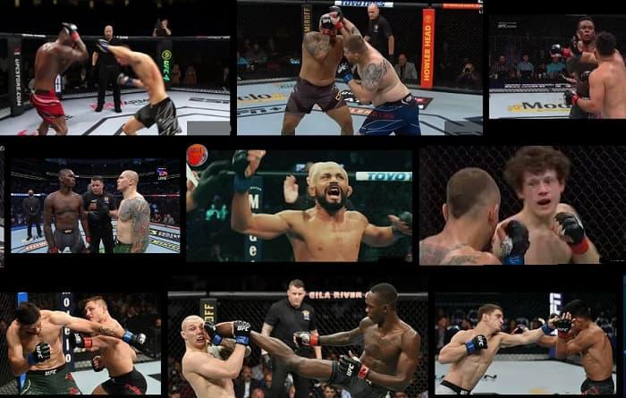 Хайлайты турнира UFC 263 / highlights UFC 263