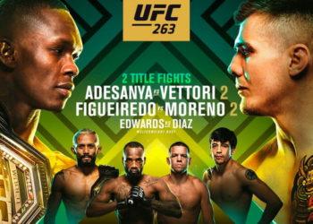 UFC 263: Адесанья — Веттори 2 / Прямая трансляция