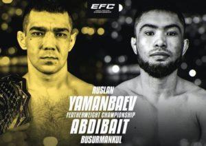 EFC 38: Яманбаев VS Абдибаит | Шахрурамазанов VS Магомедов