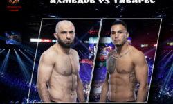 Видео боя Омари Ахмедов — Брэд Таварес / UFC 264